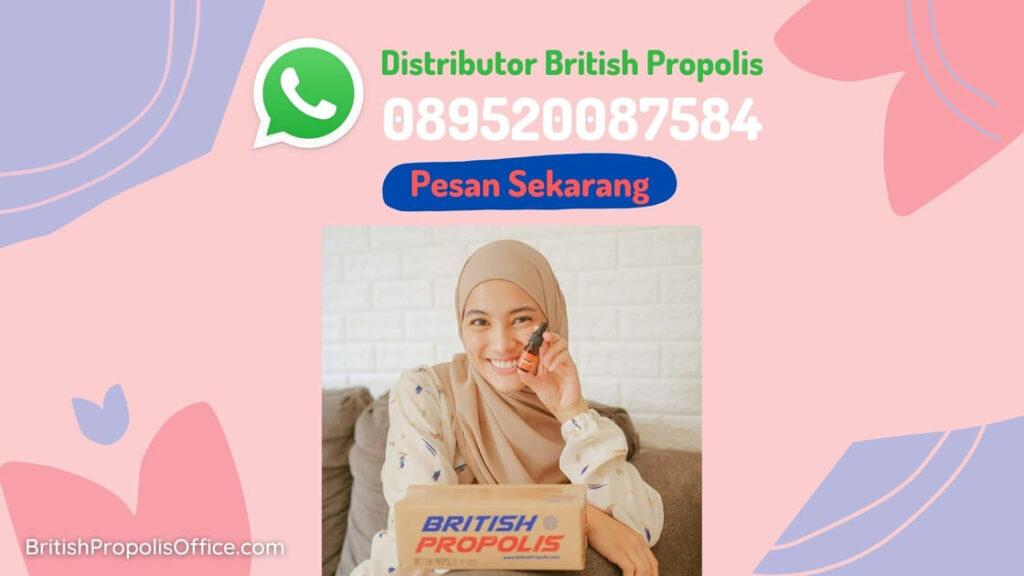 Distributor British Propolis di Aceh Besar