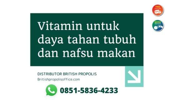 Vitamin Untuk Daya Tahan Tubuh Dan Nafsu Makan Dewasa