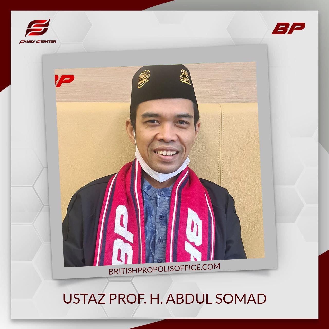 Ustaz Prof. H. Abdul Somad British propolis